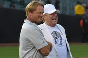 Jon Gruden Mark Davis Photos Photo