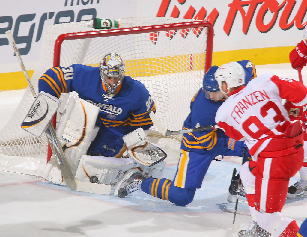 ryan miller photos photos detroit red wings v buffalo sabres zimbio. Black Bedroom Furniture Sets. Home Design Ideas