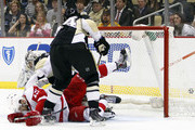 Brooks Orpik and Marc-Andre Fleury Photos Photo