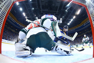 Devan Dubnyk Minnesota Wild v St Louis Blues - Game Three