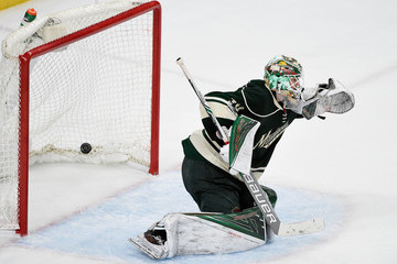 Devan Dubnyk St Louis Blues v Minnesota Wild - Game Two