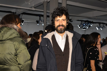 Devendra Banhart Front Row at the Band of Outsiders Show