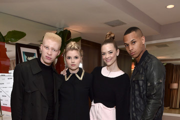 Devin Harrison Marie Claire Hosts 'Fresh Faces' Party Celebrating May Issue Cover Stars - Inside