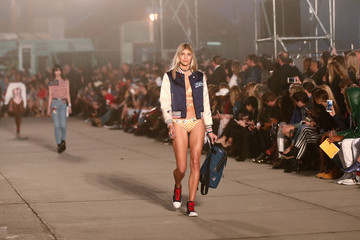Devon Windsor TommyLand Tommy Hilfiger Spring 2017 Fashion Show - Runway