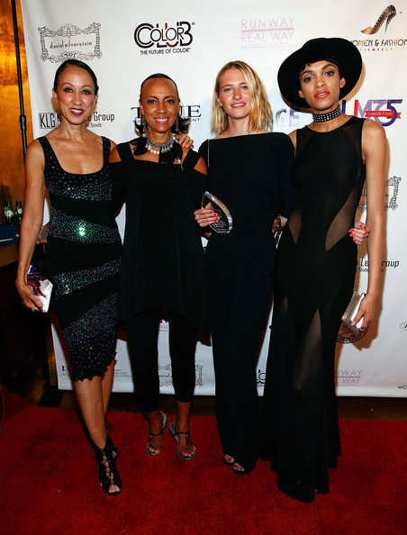 2nd Annual Women & Fashion FilmFest Opening [red carpet,carpet,little black dress,dress,fashion,event,premiere,flooring,fashion design,cocktail dress,devyn abdullah,sara ziff,pat cleveland,sandi bass,l-r,gold bar,new york city,annual women fashion filmfest red carpet,2nd annual women fashion filmfest red carpet]