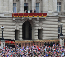 Duchess of Cambridge and Prince Harry Diamond Jubilee - Carriage Procession And Balcony Appearance