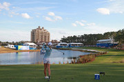 Lydia Ko of New Zealand watches her tee shot on the 18th hole during the third round of the Diamond Resorts Tournament of Champions at Tranquilo Golf Course at Four Seasons Golf and Sports Club Orlando on January 19, 2019 in Lake Buena Vista, Florida.