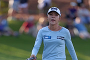 Lydia Ko of New Zealand watches her birdie putt on the 18th hole during the third round of the Diamond Resorts Tournament of Champions at Tranquilo Golf Course at Four Seasons Golf and Sports Club Orlando on January 19, 2019 in Lake Buena Vista, Florida.