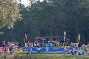 Lydia Ko of New Zealand hits her tee shot on the 16th hole during the third round of the Diamond Resorts Tournament of Champions at Tranquilo Golf Course at Four Seasons Golf and Sports Club Orlando on January 19, 2019 in Lake Buena Vista, Florida.