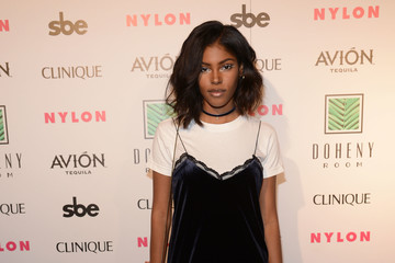 Diamond White NYLON Nights Los Angeles, in Celebration of the October It Girl Issue Hosted by Cover Star Tinashe, at Doheny Room