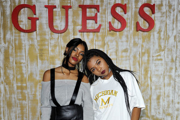 Diamond White GUESS Glitz and Glam Holiday Event