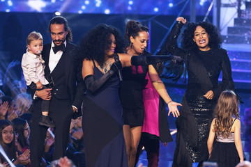 Diana Ross Tracee Ellis Ross 2017 American Music Awards - Show