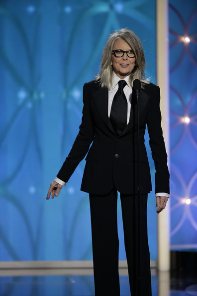 Diane Keaton - 71st Annual Golden Globe Awards Show