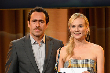 Diane Kruger Demian Bichir Inside the Hollywood Foreign Press Luncheon