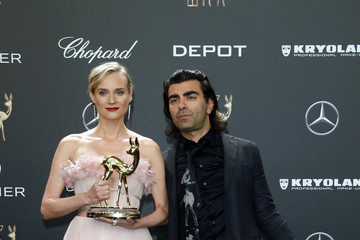Diane Kruger Fatih Akin Winners Board - Bambi Awards 2017