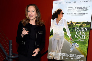 Diane Lane The Cinema Society Hosts a Screening of Sony Pictures Classics' 'Paris Can Wait'- Arrivals