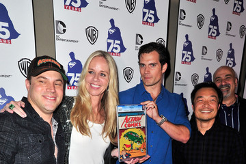 Diane Nelson Superman 75 Party at Comic-Con