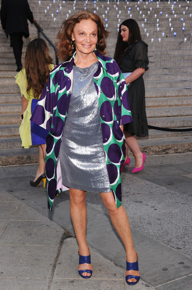 Diane von Furstenberg - Vanity Fair Party - 2012 Tribeca Film Festival
