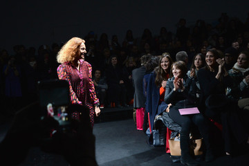 Diane von Furstenberg Diane Von Furstenberg - Front Row - Mercedes-Benz Fashion Week Fall 2015