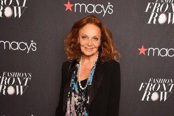Diane von Furstenberg Macy's Presents Fashion Front Row - Arrivals