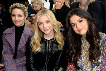 Dianna Agron Front Row at Louis Vuitton