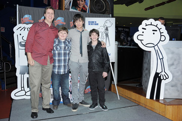 "Jeff Kinney ""Diary Of A Wimpy Kid: Rodrick Rules"" Cast Visits Planet Hollywood"