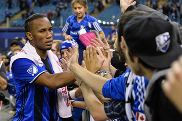 Didier Drogba Toronto FC v Montreal Impact - Eastern Conference Finals - Leg 1