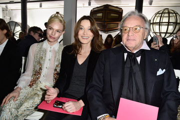 Diego Della Valle Schiaparelli : Front Row - Paris Fashion Week - Haute Couture Spirng Summer 2016