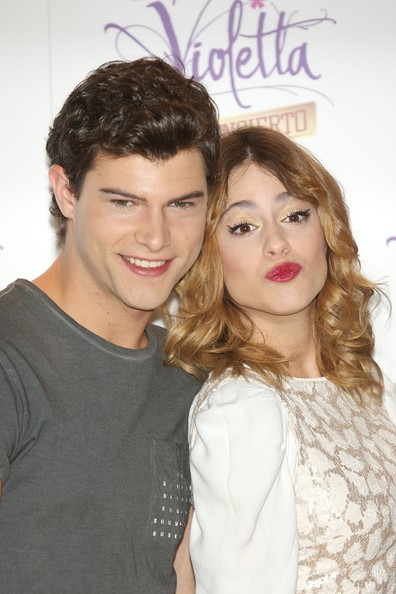'Violetta' Madrid Photo Call [violetta,madrid photocall,hair,hairstyle,lip,eyebrow,skin,beauty,nose,forehead,friendship,cheek,diego dominguez,martina stoessel,madrid,spain,emperador hotel,photocall]