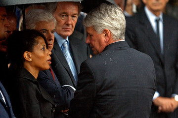 Greg Craig Dignitaries, President, Family Attend Funeral Mass For Ted Kennedy