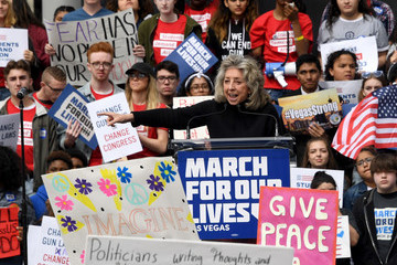 Dina Titus Thousands Join March For Our Lives Events Across US For School Safety From Guns