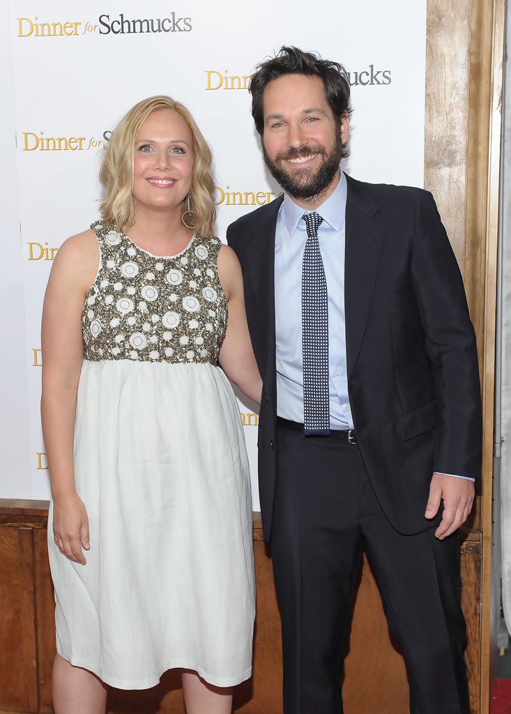 "Paul Rudd and Julie Yaeger Photos Photos - ""Dinner For ..."