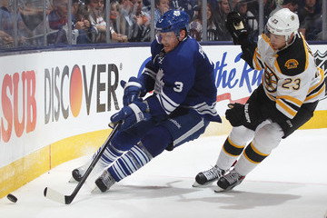 Dion Phaneuf Boston Bruins v Toronto Maple Leafs