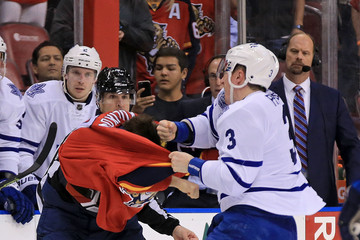 Dion Phaneuf Toronto Maple Leafs v Florida Panthers