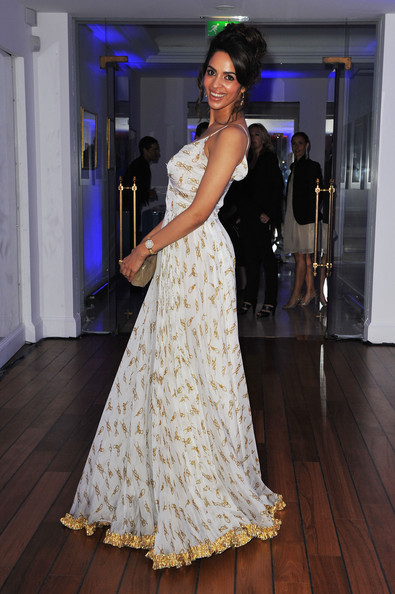 Mallika Sherawat attends the Dior Dinner at Hotel du Cap, Eden Roc during the 63rd Cannes Film Festival on May 21, 2010 in Antibes, France.