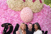 (L-R) Kate Moss, Kim Jones and Naomi Campbell attend the Dior Homme Menswear Spring/Summer 2019 show as part of Paris Fashion Week on June 23, 2018 in Paris, France.