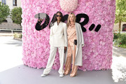 Naomi Campbell and Kate Moss attend the Dior Homme Menswear Spring/Summer 2019 show as part of Paris Fashion Week on June 23, 2018 in Paris, France.