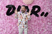 Takashi Murakami attends the Dior Homme Menswear Spring/Summer 2019 show as part of Paris Fashion Week on June 23, 2018 in Paris, France.