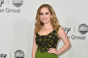 """Actress Allie Grant arrives to the Disney ABC Television Group's 2012 """"TCA Summer Press Tour"""" on July 27, 2012 in Beverly Hills, California."""