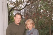 "20/20 - 11/6/02 .Former Vice President Al Gore will give ABC News' Barbara Walters his first formal televised interview since the presidential election two years ago. Mr. Gore promises to address a wide range of issues. Tipper Gore will join her husband during the interview, which is scheduled to air on ABC News' ""20/20,"" Friday, Nov. 15 (10-11 p.m., ET) on the ABC Television Network. .(Photo by Virginia Sherwood/ABC via Getty Images).AL GORE, BARBARA WALTERS"