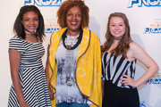 (L-R) Blair Burns, actress CCH Pounder and Sophie Madere attend Disney On Ice presents Frozen Presented by Stonyfield YoKids Organic Yougurt at UNO Lakefront Arena on April 30, 2015 in New Orleans, Louisiana.