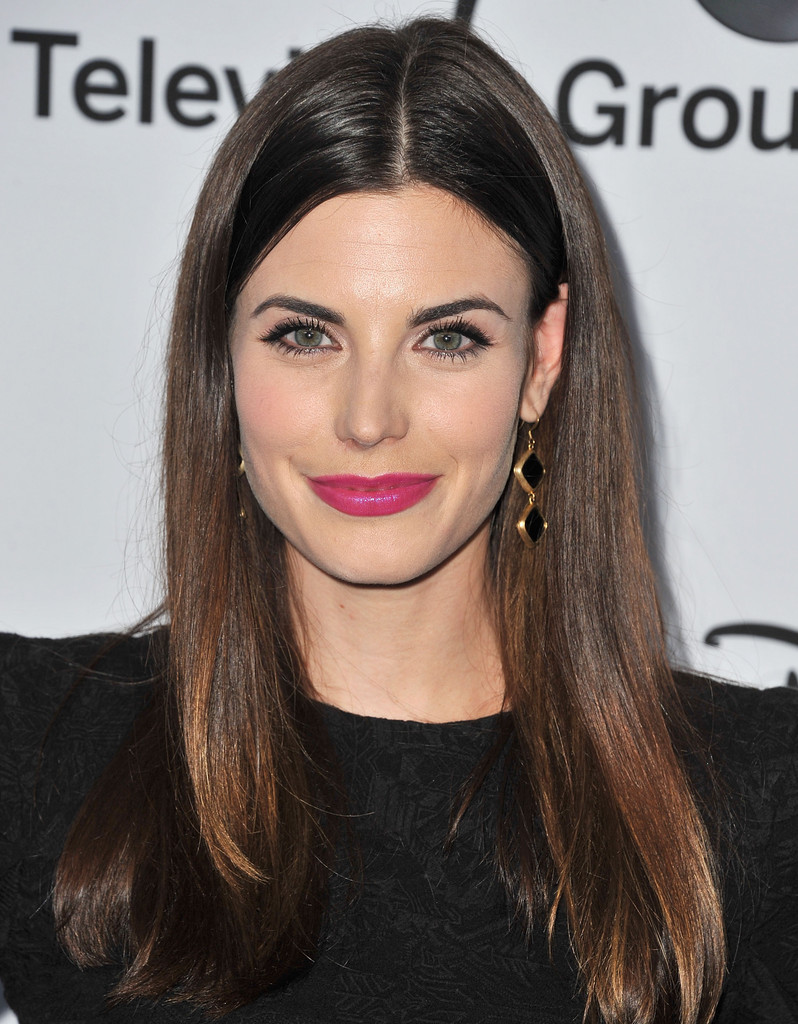 meghan ory photos arrivals at the disney media upfronts
