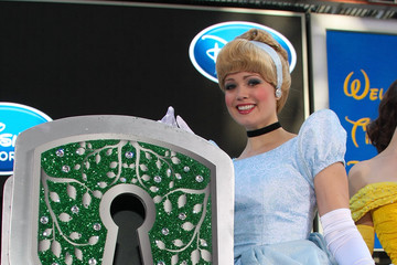 Cinderella Disney Store Times Square Grand Opening
