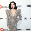 Dita Von Teese IMDb LIVE Presented By M&M'S At The Elton John AIDS Foundation Academy Awards Viewing Party