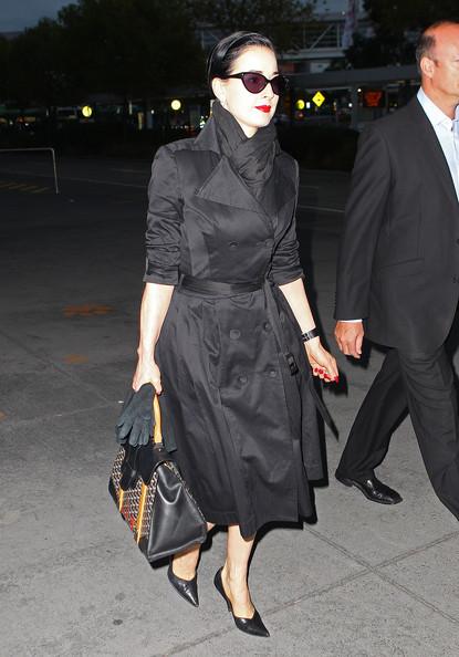 6fae0d5afcfe Dita Von Teese Photos Photos - Dita Von Teese Arrives In Melbourne ...