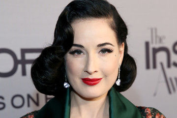 Dita Von Teese InStyle Presents the Second Annual InStyle Awards - Red Carpet