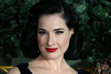 Dita Von Teese 62nd London Evening Standard Theatre Awards 2016