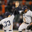 Curtis Granderson and Nick Swisher Photos