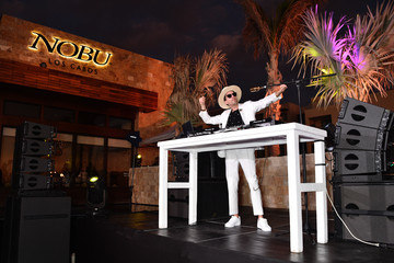 Dj Cassidy Nobu Los Cabos Official Hotel Launch And Sake Ceremony