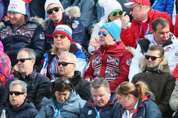 Dmitry Medvedev Alpine Skiing - Winter Olympics Day 2